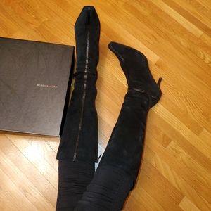 BCBG MAXAZRIA suede boots